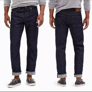 J. Crew 1040 athletic jeans Japanese denim 32 x 30
